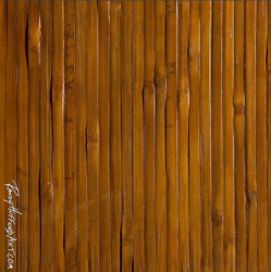 Bamboo Slat With Honey Stain 4 X8 Mounted Bamboomaui